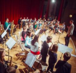 SOS Junior Saxophone Orchestra - Gerhard Preinfalk, conductor
