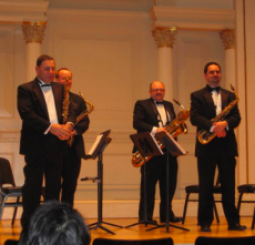 New Jersey Saxophone Quartet with the University of Delaware Percussion Ensemble - Harvey Price, conductor