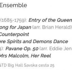 UTRGV Saxophone Ensemble