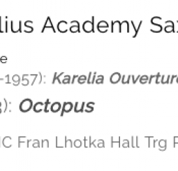 SaxibA - Sibelius Academy Saxophone Ensemble