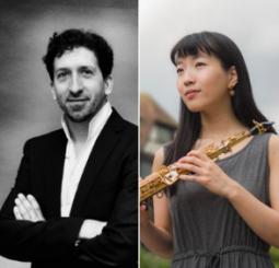 Iván Solano and Yui Sakagoshi