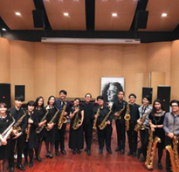 Silpakorn Saxophone Ensemble, Supat Hanpatanachai, conductor