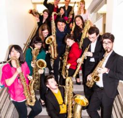 Strasbourg Saxophone Ensemble - Philippe Geiss, conductor, Branford Marsalis, guest