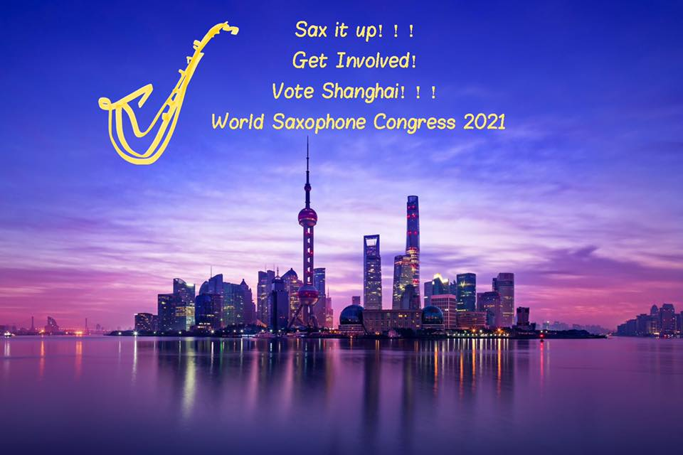First Candidature for World Saxophone Congress 2021 SHANGHAI1