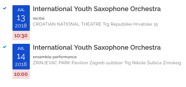 International Youth Saxophone Orchestra
