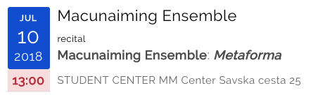 Macunaiming Ensemble
