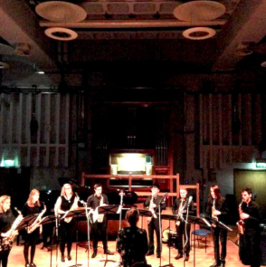 Saxophone Octet of the Royal Birmingham Conservatoire