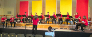 The Arkansas Saxophones Choir Jackie Lamar conductor