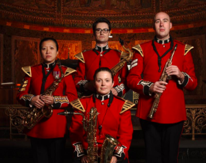 The Household Division Saxophone Quartet of the British Army2