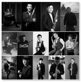 The United Saxophone Ensemble of Universities and Music Conservatories in China Yusheng Li conductor