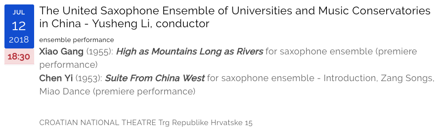 The United Saxophone Ensemble of Universities and Music Conservatories in China Yusheng Li conductor2